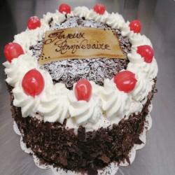 Gâteau mousse rond